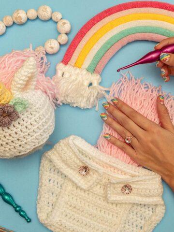 unicorn baby crochet pattern