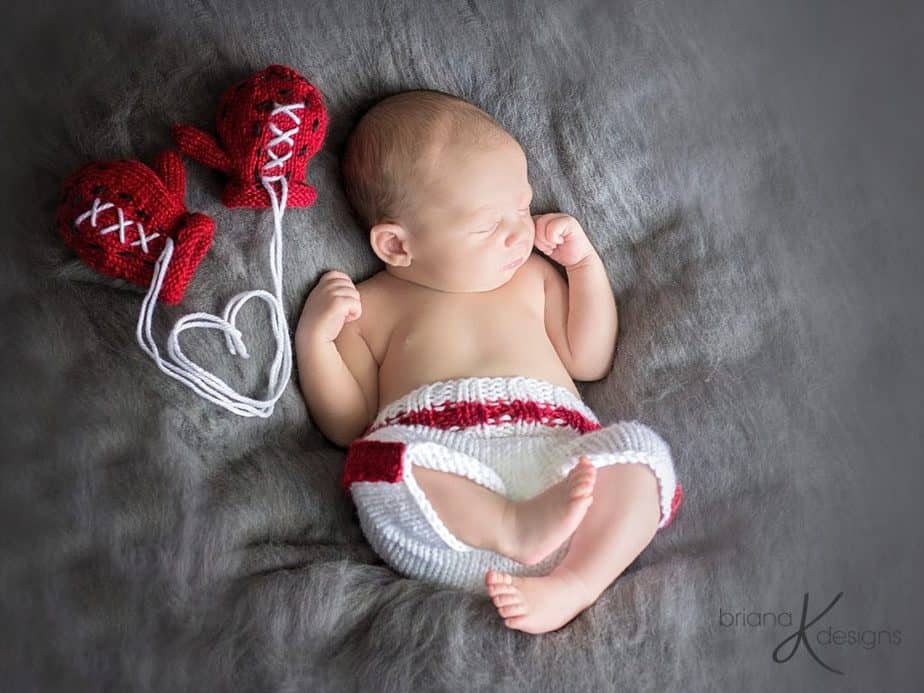 Baby Knit Boxer by Briana K Designs