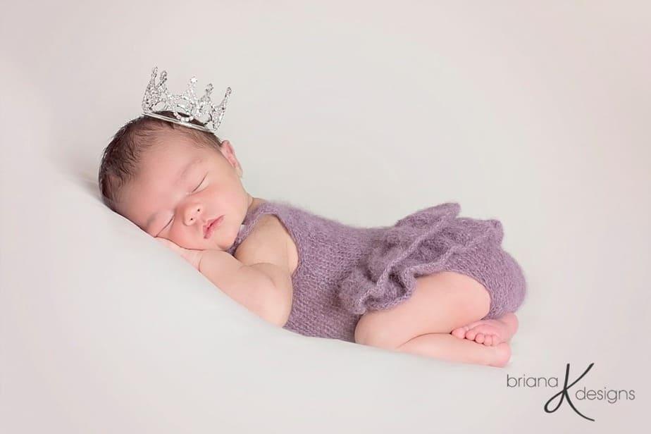 Delicate Knit Onesie by Briana K Designs