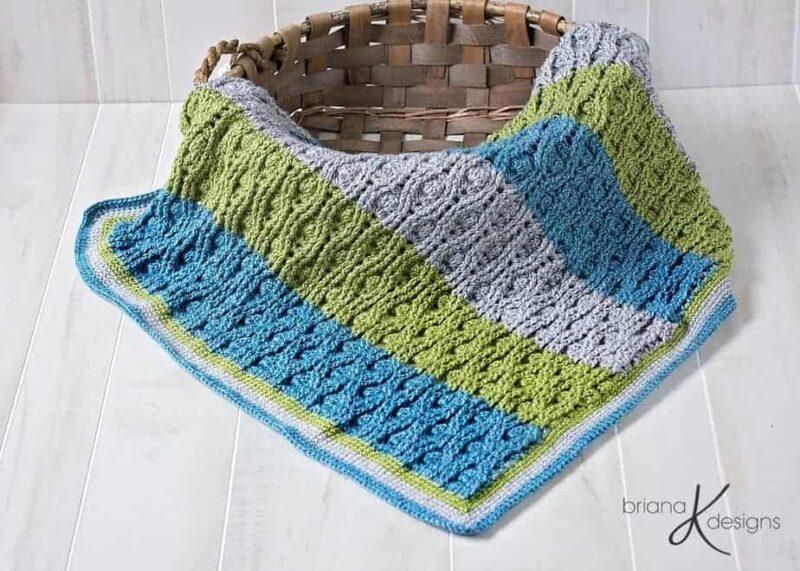 Vintage Crochet Blanket by Briana K Designs