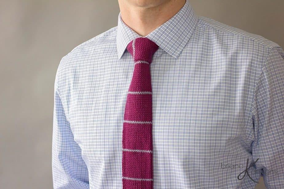 Kingston Knit Tie by Briana K Designs