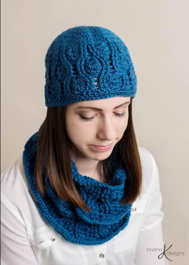 Kirsten 4 Piece Crochet Set by Briana K Designs