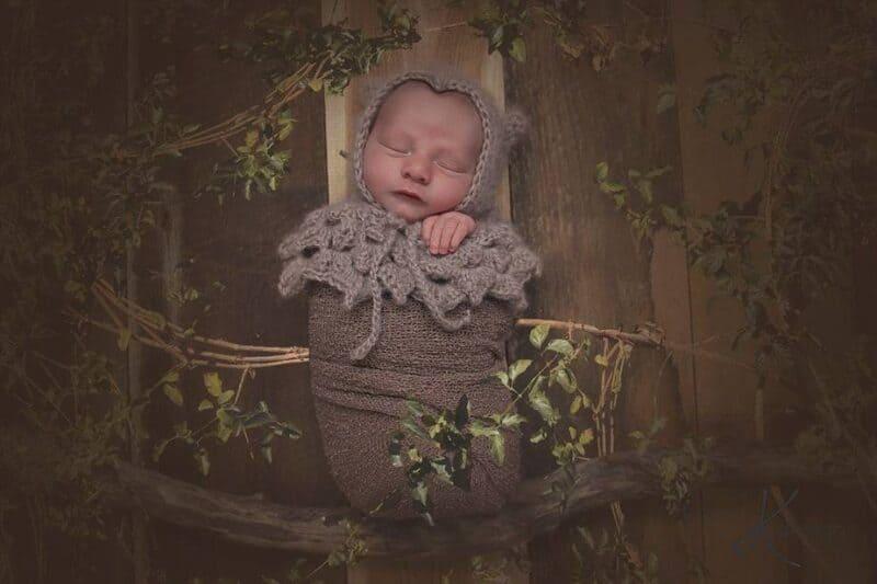 Owl Crochet Newborn Prop by Briana K Designs