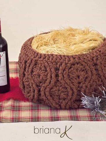 Vintage Crochet Basket by Briana K Designs