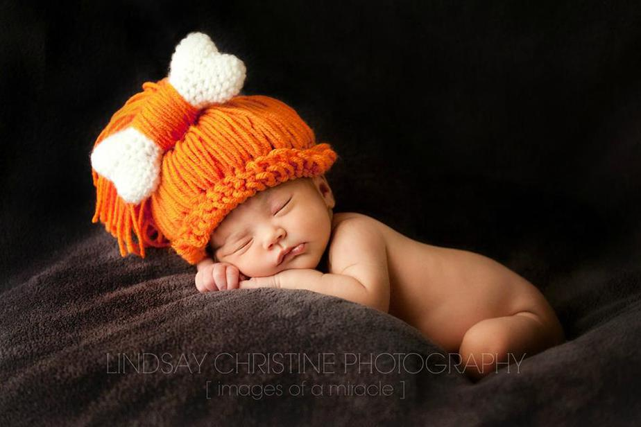 Cave Baby, Child, Woman Crochet Hat by Briana K Designs