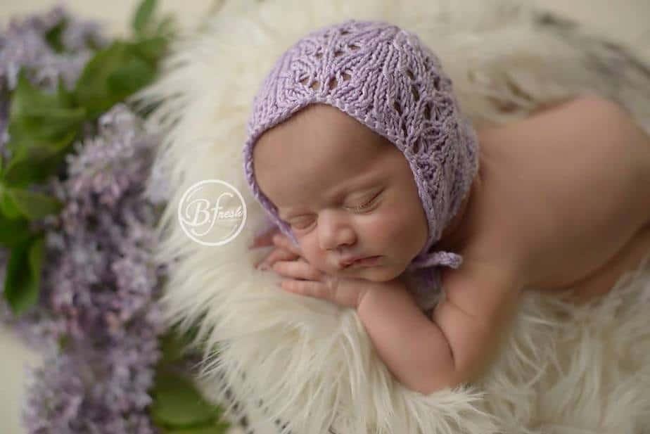 Rosalyn Knit Bonnet by Briana K Designs