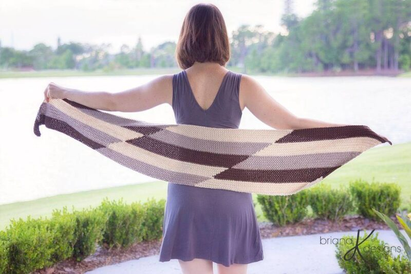 Crochet Parallel Wrap