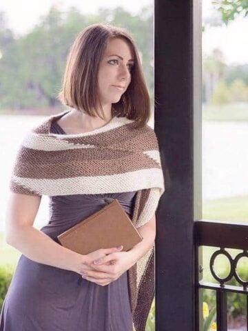 Parallel Knit Wrap