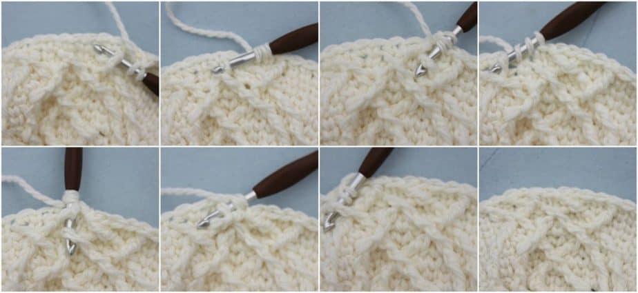 Kahlua Crochet Beanie Pattern