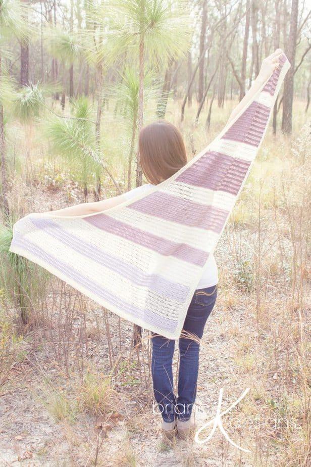 Kimberly Crochet Shawl