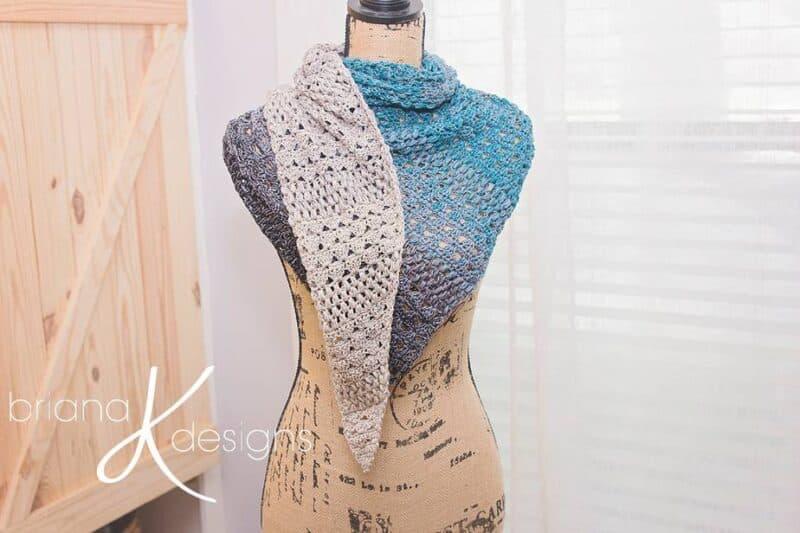 It's A Wrap crochet Shawl