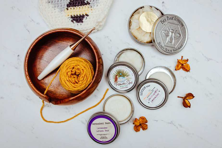 Lotion Bar for Crochet or Knit