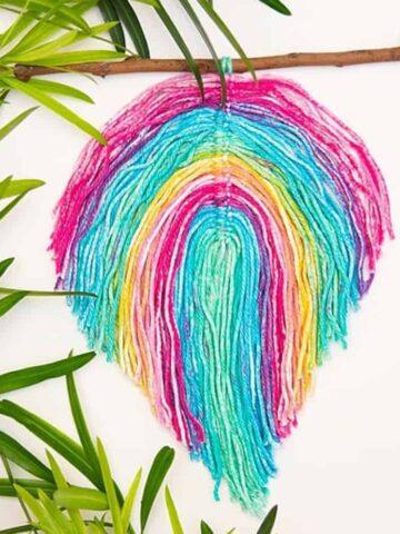 Macrame Feather
