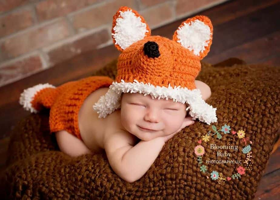 Baby Fox Crochet Outfit by Briana K Designs