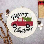 Farmhouse Truck Cross Stitch