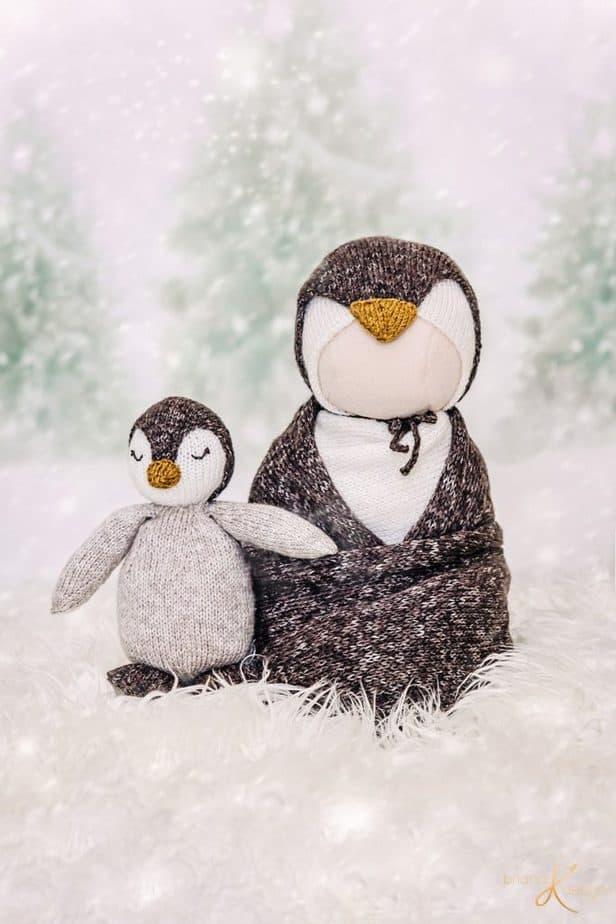 Knit Penguin Buddy Pattern