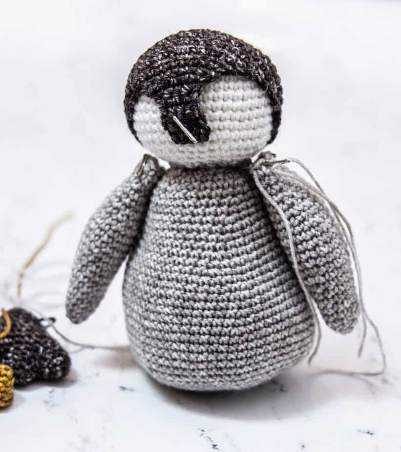 Crochet Penguin Pattern Assembly