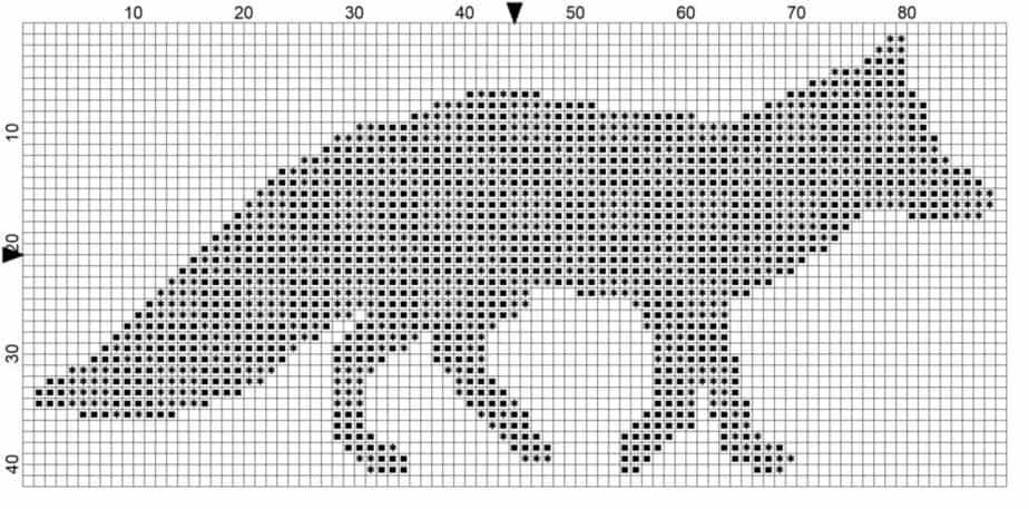 Plaid Bear Block and Symbols Chart - Copy