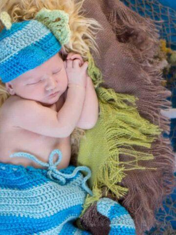 newborn seahorse crochet pattern