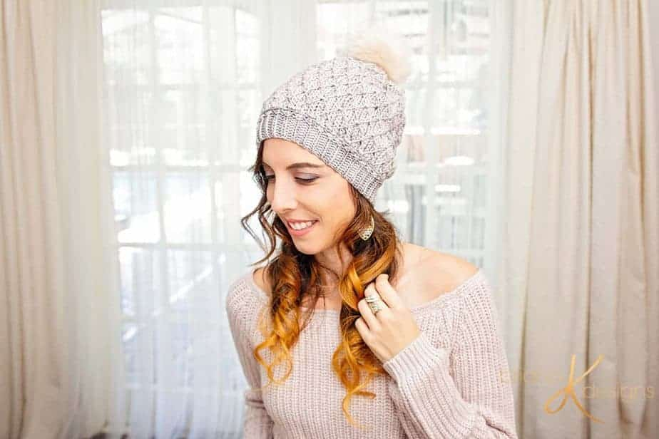 Quilted Lattice Crochet Hat by Briana K Designs