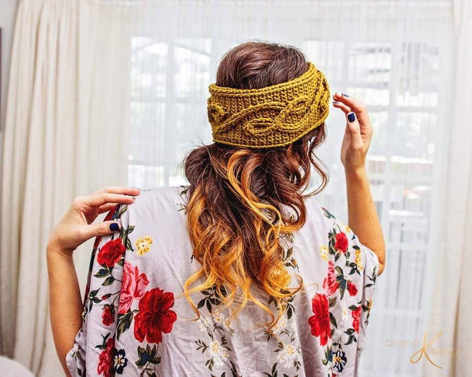 Traveling Vine Earwarmer Crochet