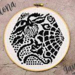 Gaudi's Tile Cross Stitch