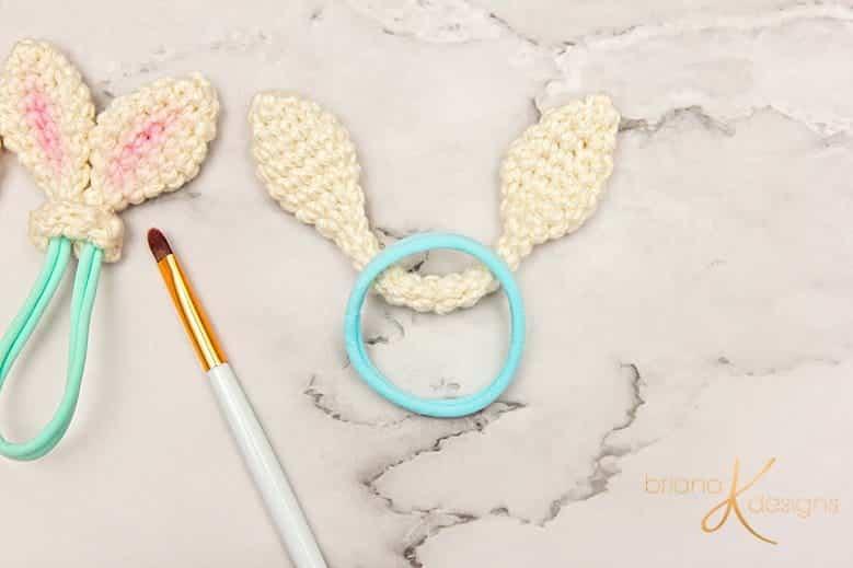 Bunny Crochet Hair Tie