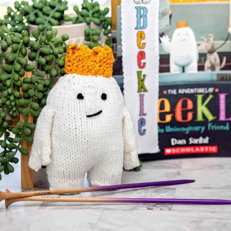 Beekle: The Unimaginary Friend Knit Stuffie