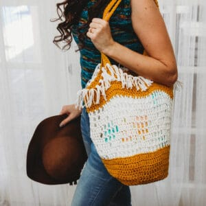 Boho Grocery Bag Crochet Pattern