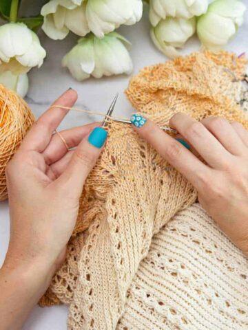 Decreasing Knitting