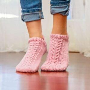 Whims Easy Flat Knit Socks