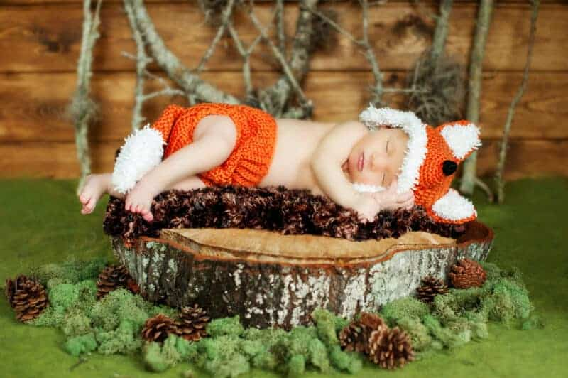 crochet fox baby pattern