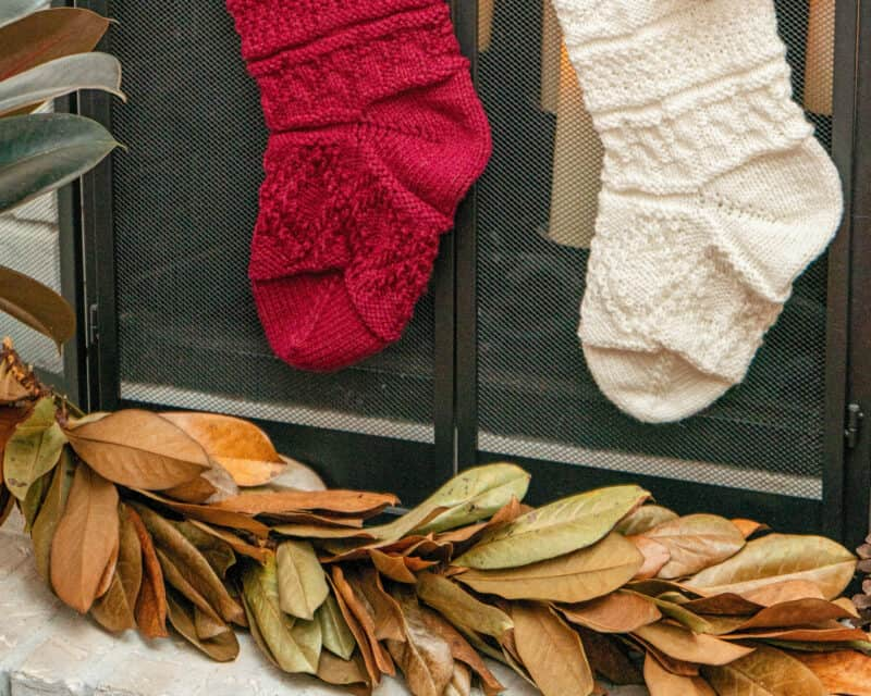 Christmas Traditional Stocking Knit A Long (6)
