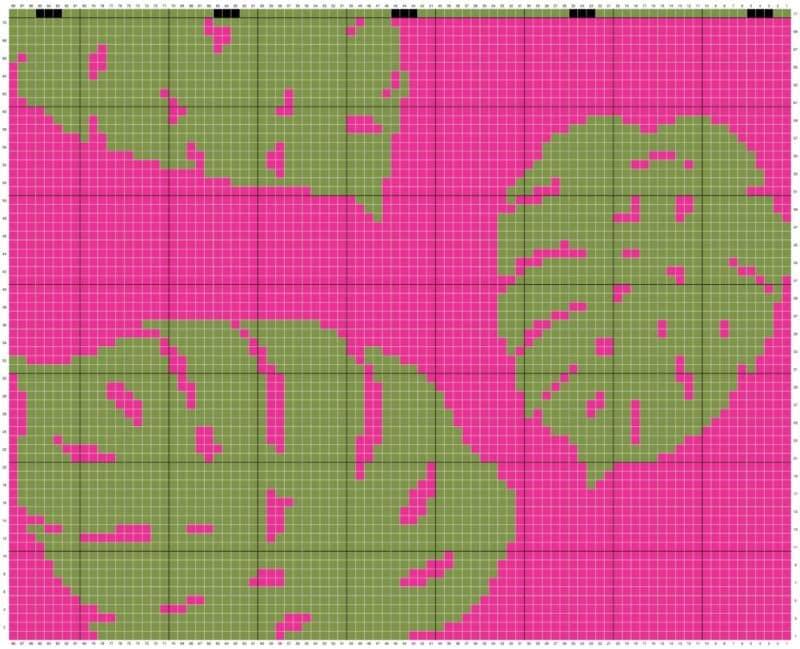 Key West Crochet Pillow