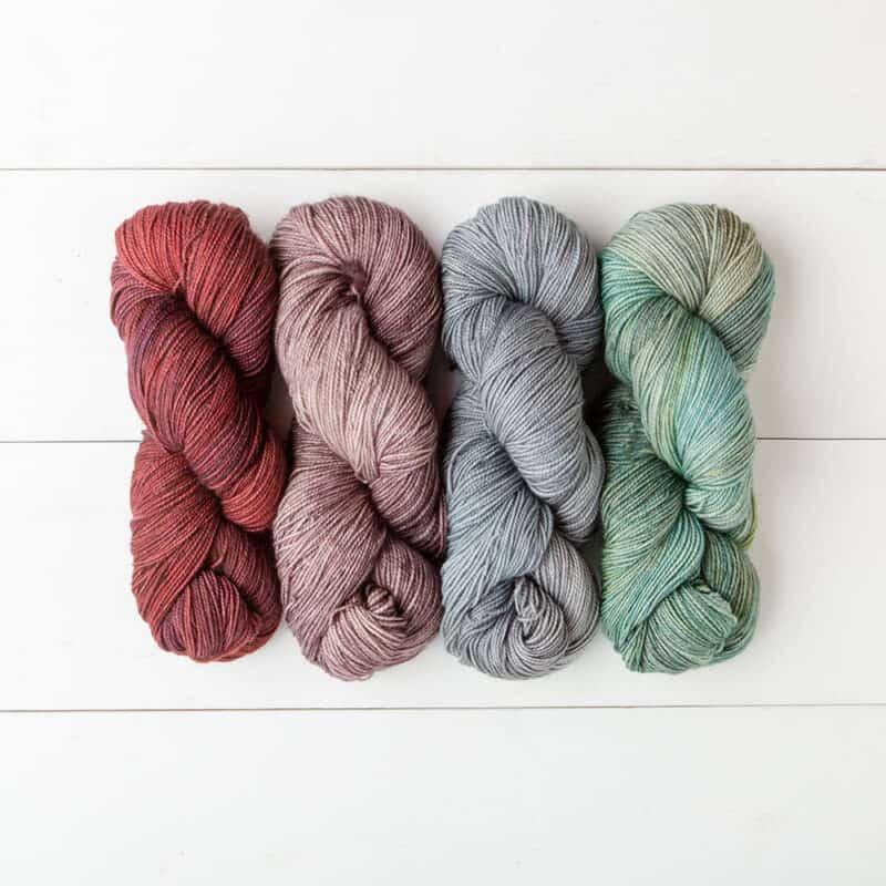 Hawthorne Tonal Hand Paint Yarn by WeCrochet