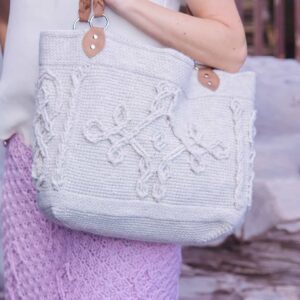 Infinity Cable Crochet Bag