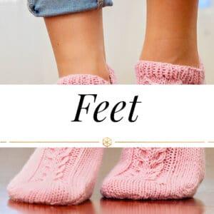 Feet Knit Patterns