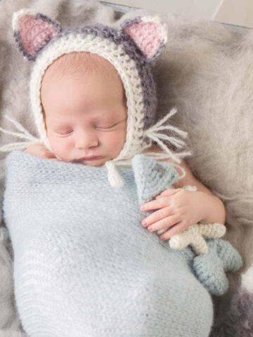 Newborn Cat Baby Pattern