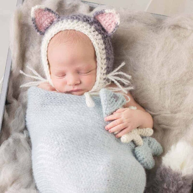 Newborn Cat Baby Pattern
