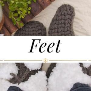 Feet Crochet Patterns