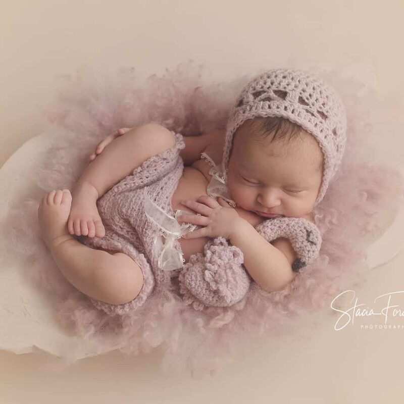 flamingo crochet baby outfit pattern