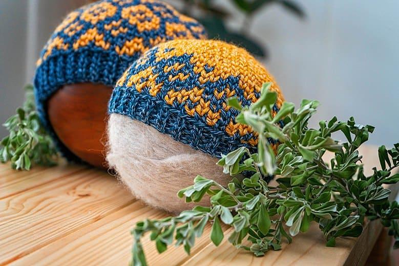 Diamond Fair Isle crochet beanie_0427