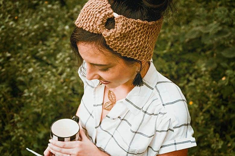 Honeycomb Earwarmer Headband Pattern