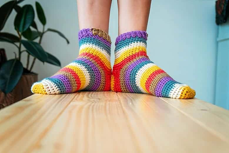 Felici Sock Pattern by Briana K_0245