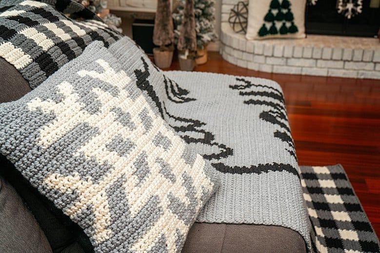 Let it Snow Crochet Pattern (15)