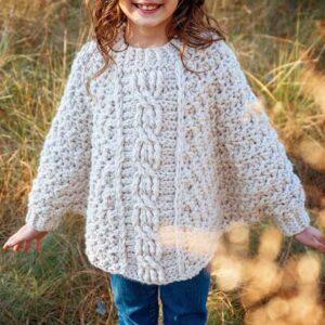Starlette Crochet Poncho Pattern