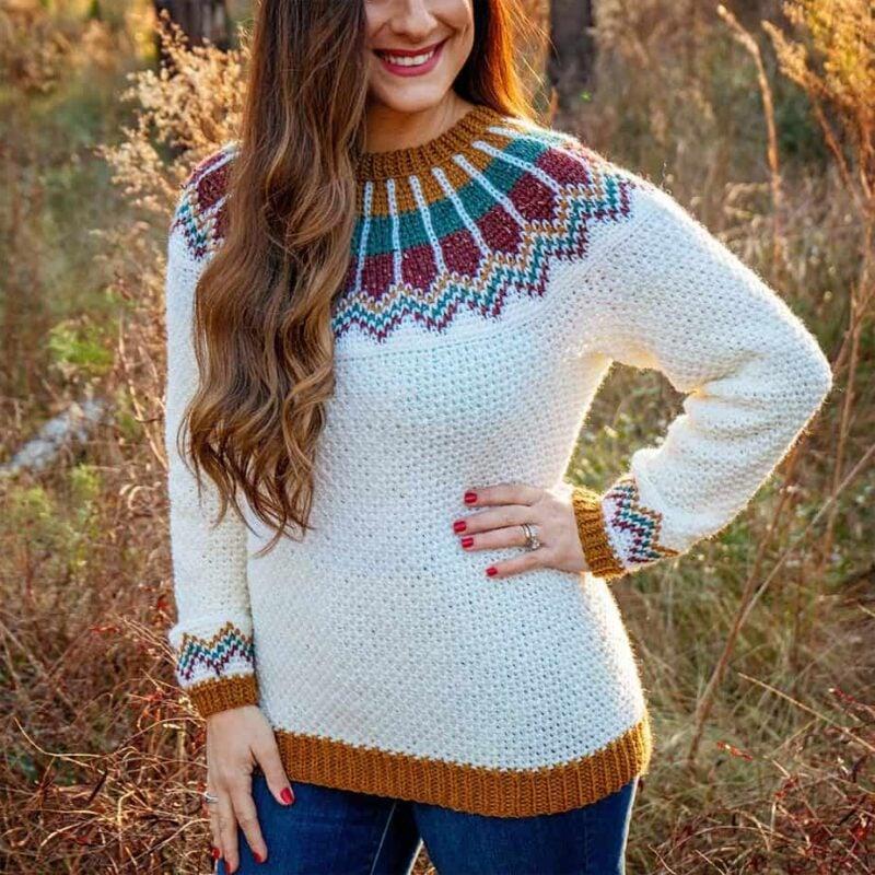 Traveler Crochet Sweater