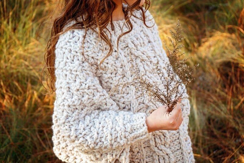 Starlette Crochet Chunk Poncho Pattern