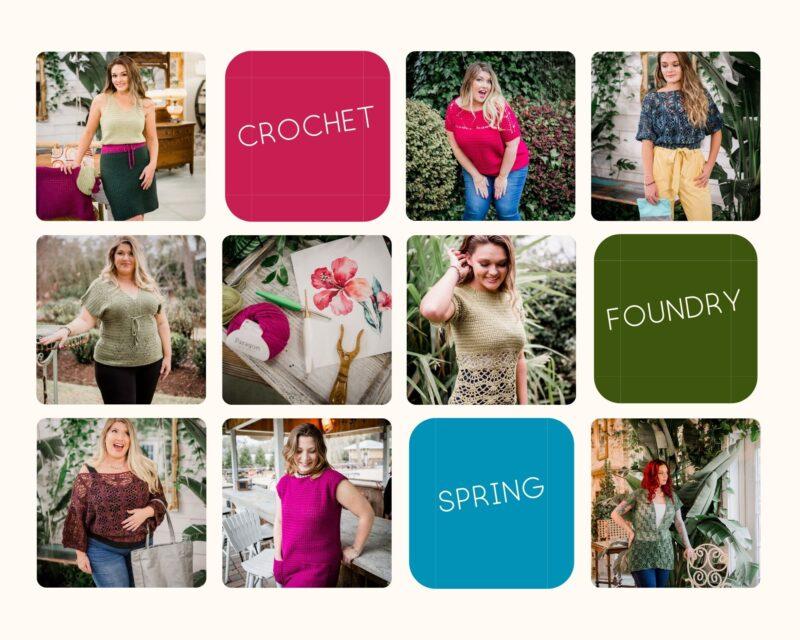 Crochet Foundry Spring Magazine