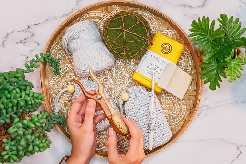 Crochet Soap Saver Bag
